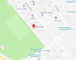 Deniz Tours: location voiture à Agadir sur la Map